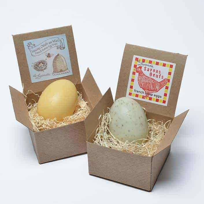 French Egg Soap in Gift Box